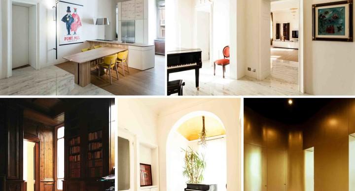 Deamicisarchitetti e l'appartamento sul fiume a Torino!