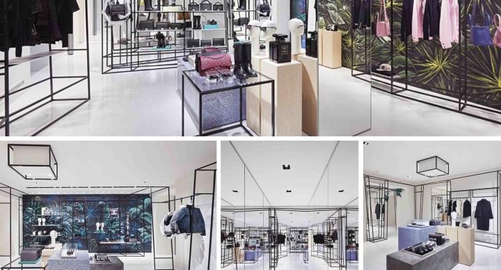 La boutique effimera di Chanel in via del Babuino!