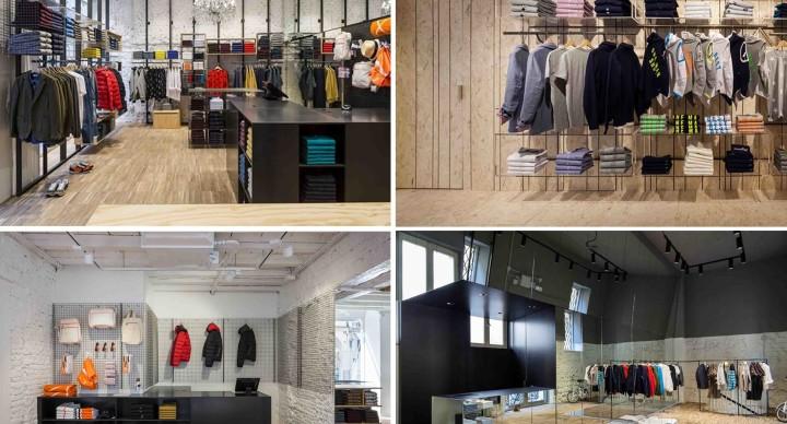 SUN68 inaugura i nuovi negozi progettati da C&P Architetti.
