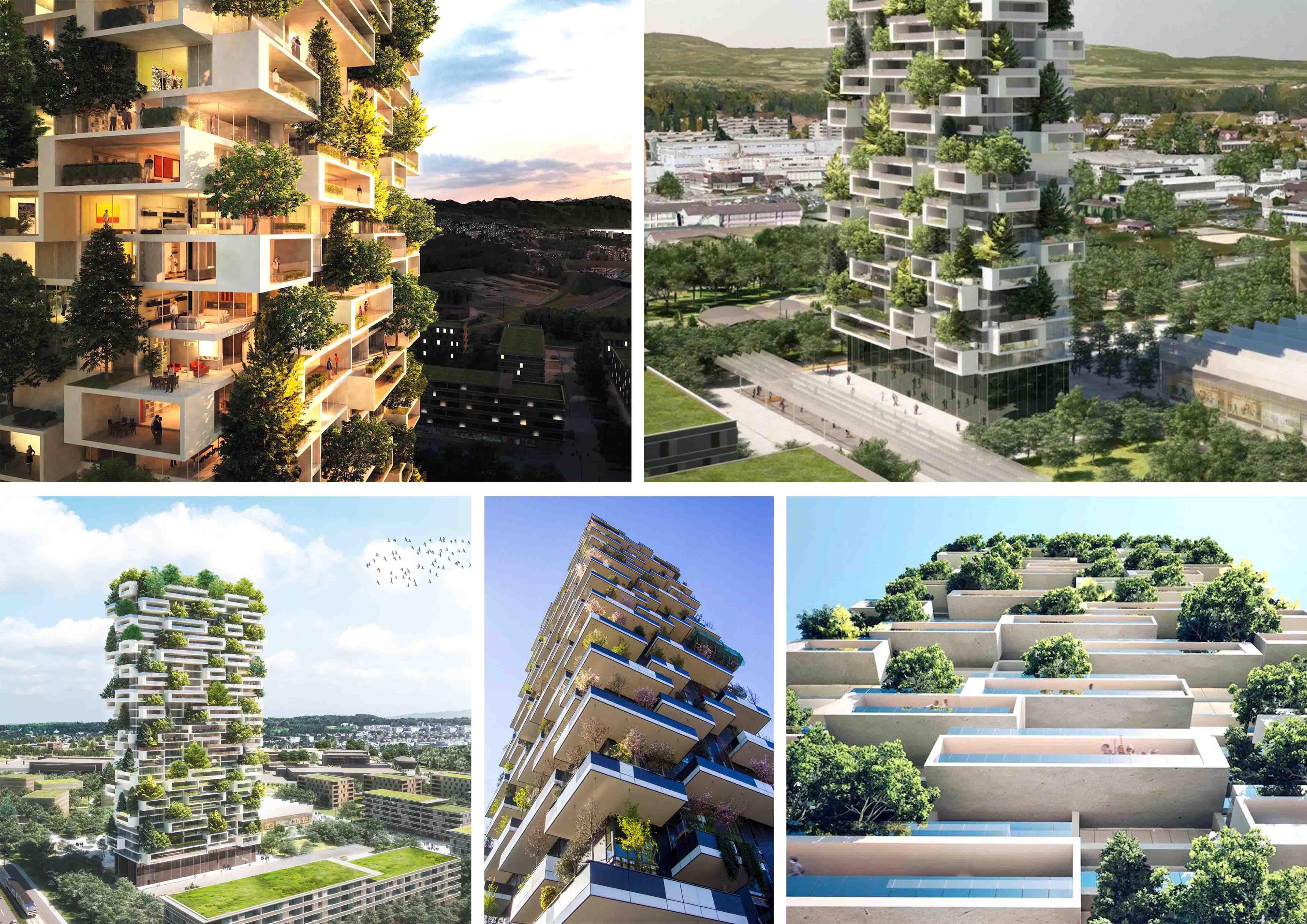 Stefano boeri progetto per il nuovo bosco verticale a for Bosco verticale architetto