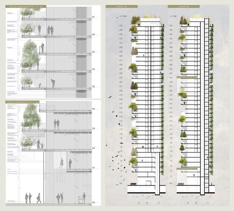 La Torre Dei Cedri A Losanna : Stefano boeri progetto per il nuovo quot bosco verticale a