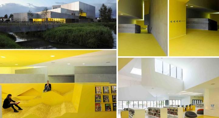 architettura colorata francia