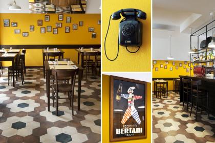 nuovo ristorante retro a milano