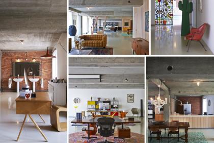 cemento grezzo interior design