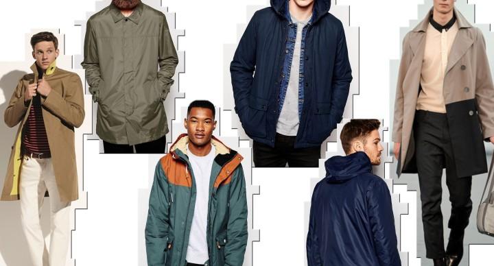 giacca anti pioggia uomo