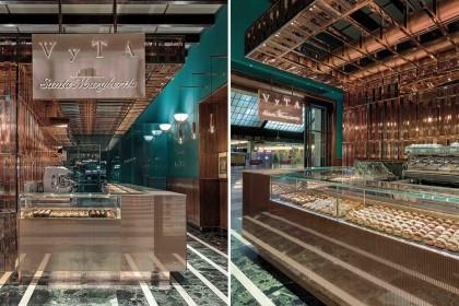 Luxury bakery nella stazione Santa Maria Novella