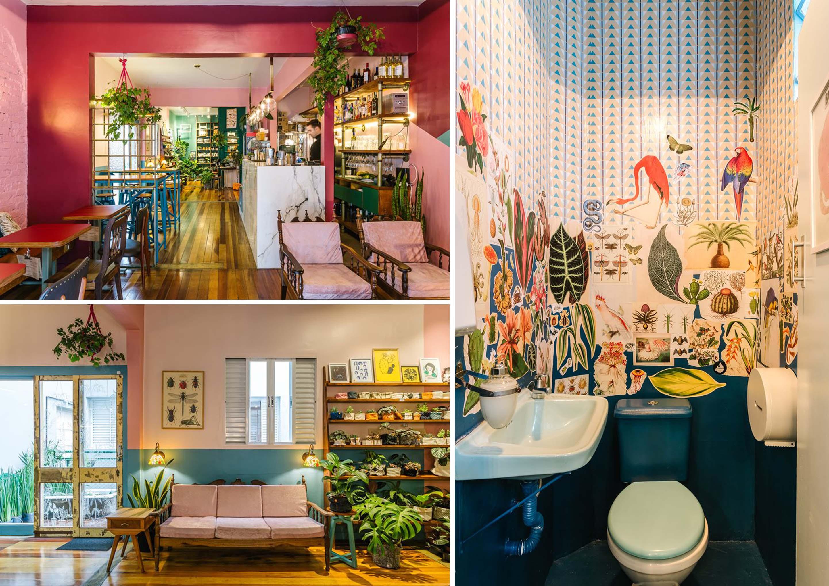 Botanique cafè interior design