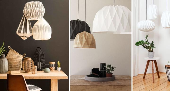 Lampade in stile giapponese