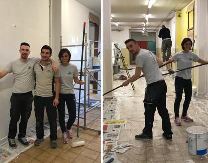 Bricolage del cuore progetto di volontariato