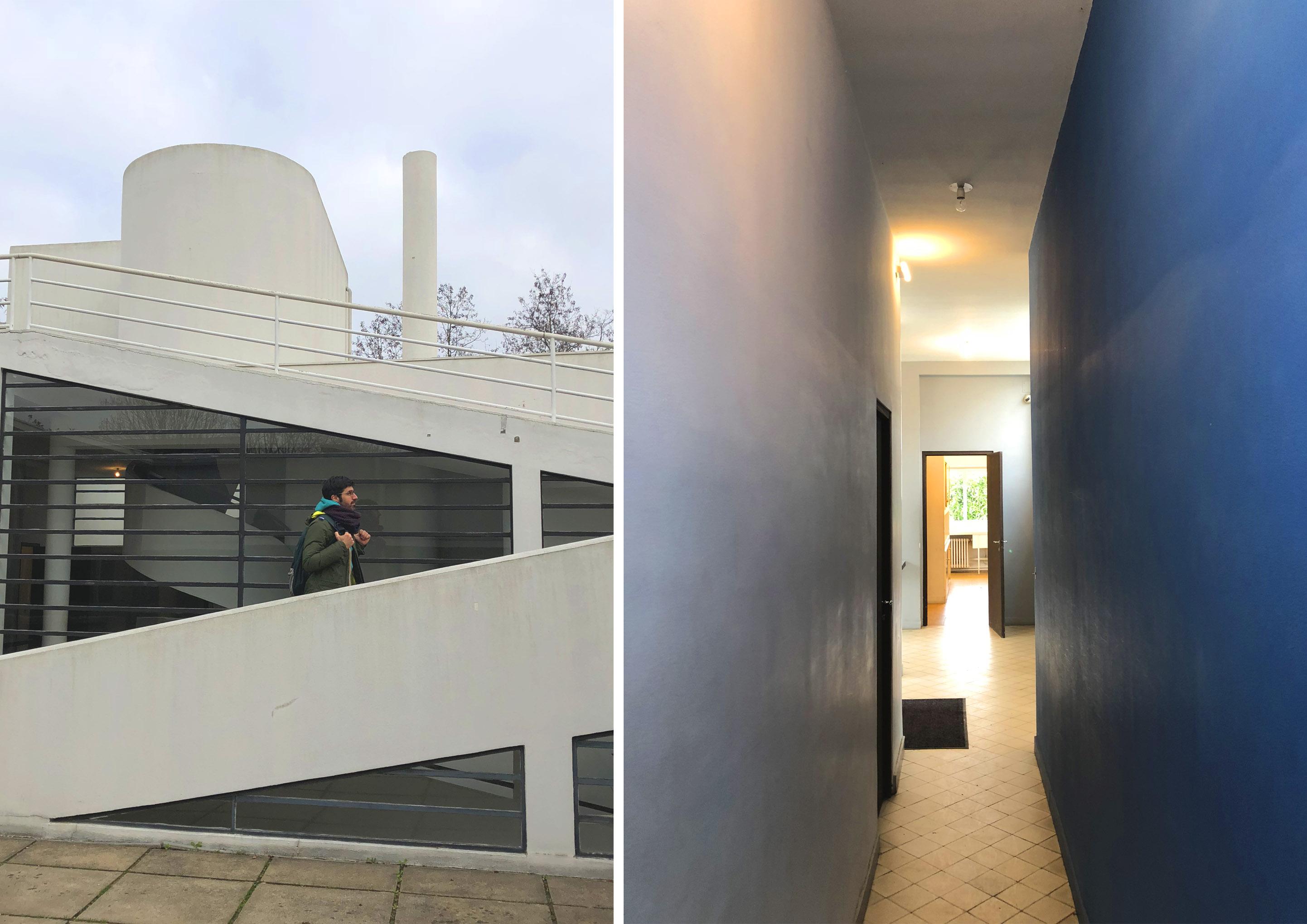 Villa Savoye di Le Corbusier
