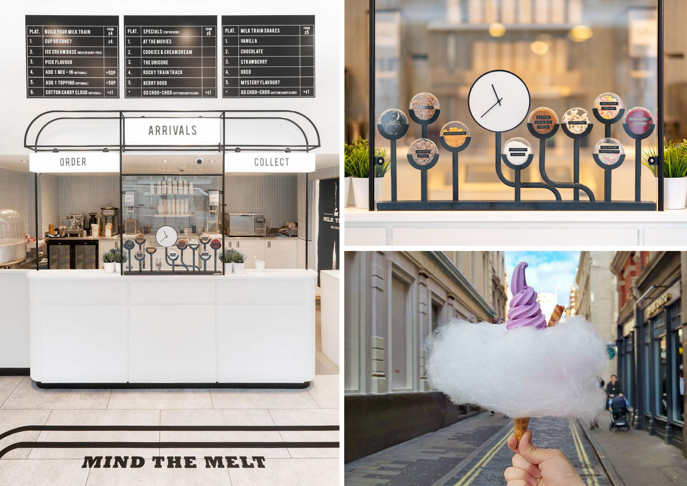Il gelato spettacorae di Milk Train