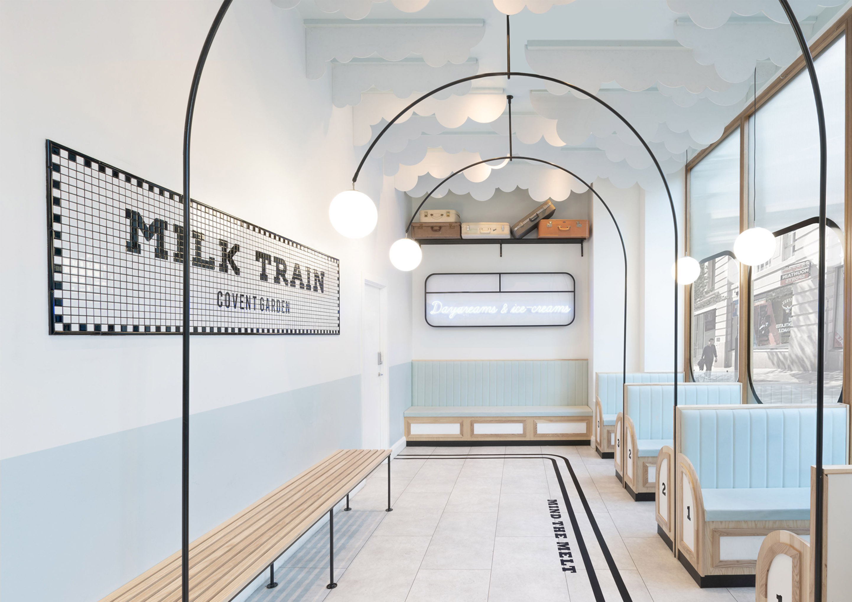 Gelateria Milk Train a Londra