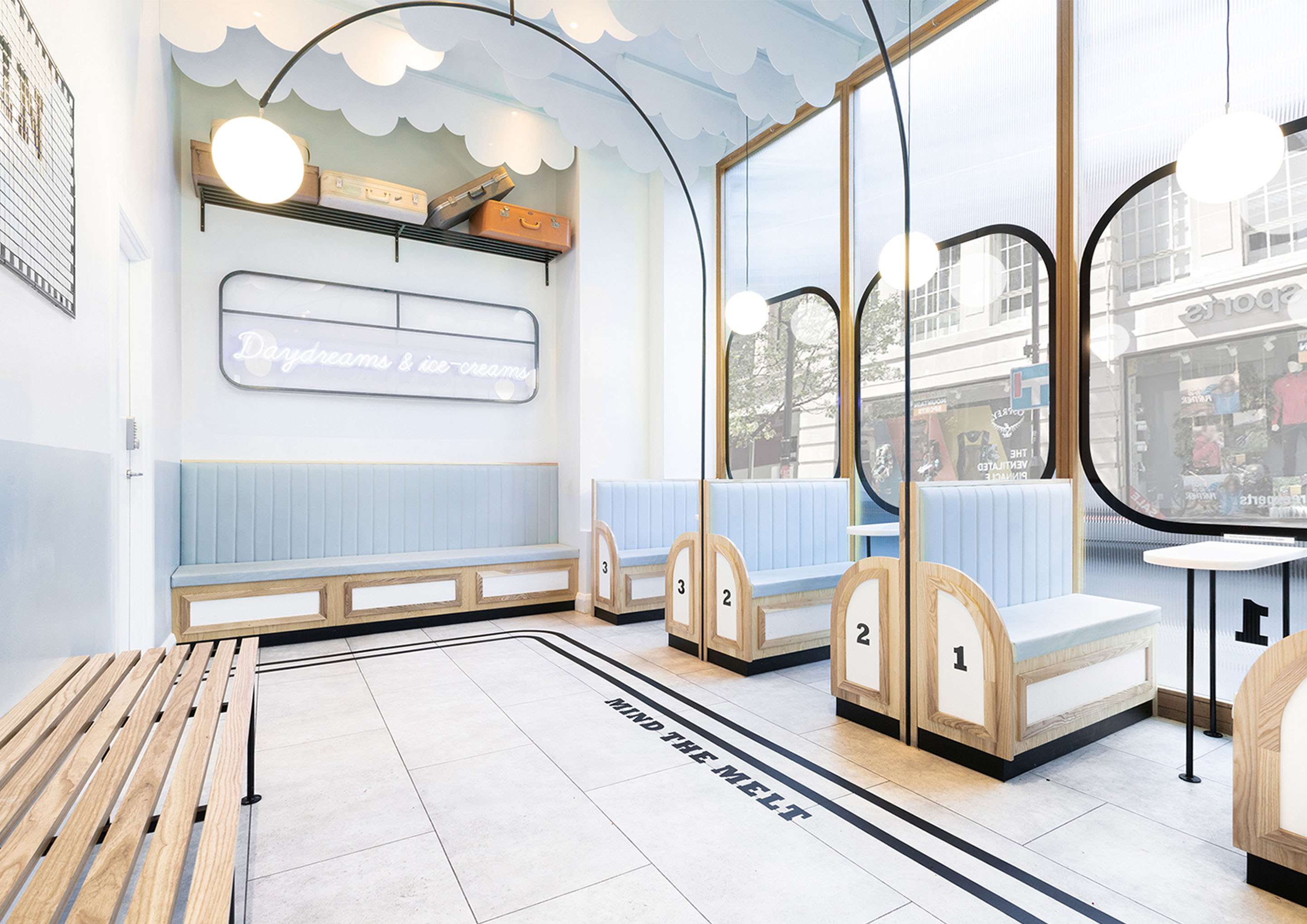 Milk Train, la gelateria vagone