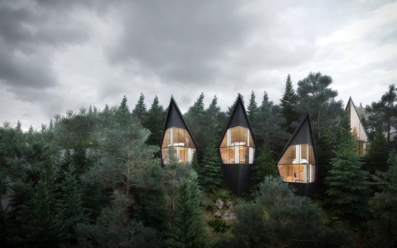 Hotel connesso con la natura