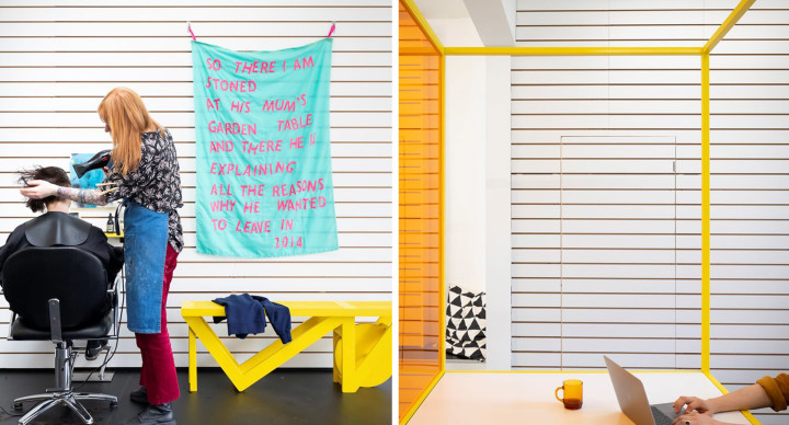 Galleria Dkuk, l'arte nasce in posti insoliti