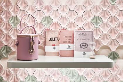 The Pink Closet, particolari decorativi