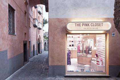 Ingresso della boutique The Pink Closet