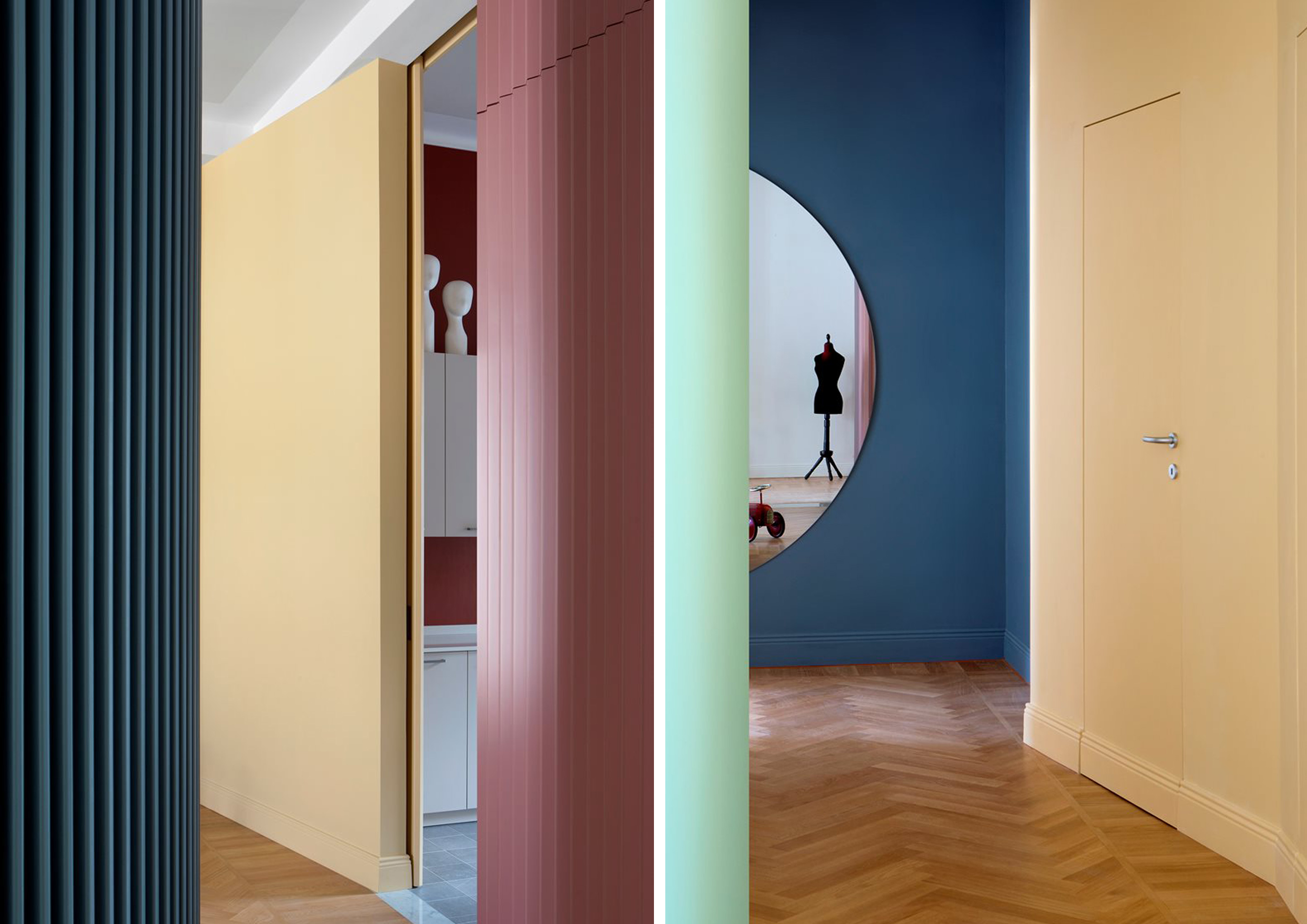Le quinte scenografiche di Casa Teatro a Torino