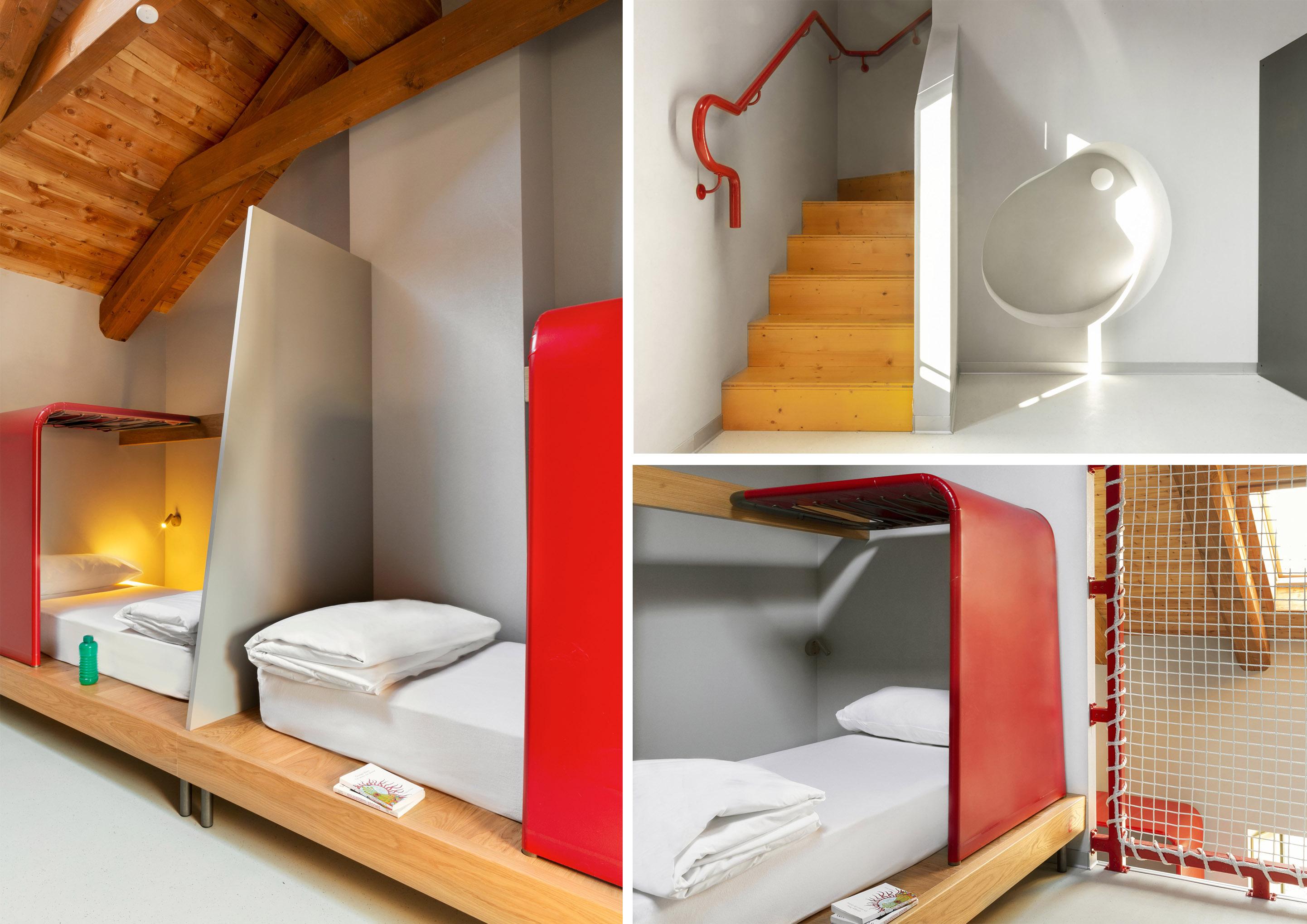 Le camere da letto di Combo a Torino