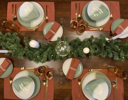 Kave Home tavola natalizia
