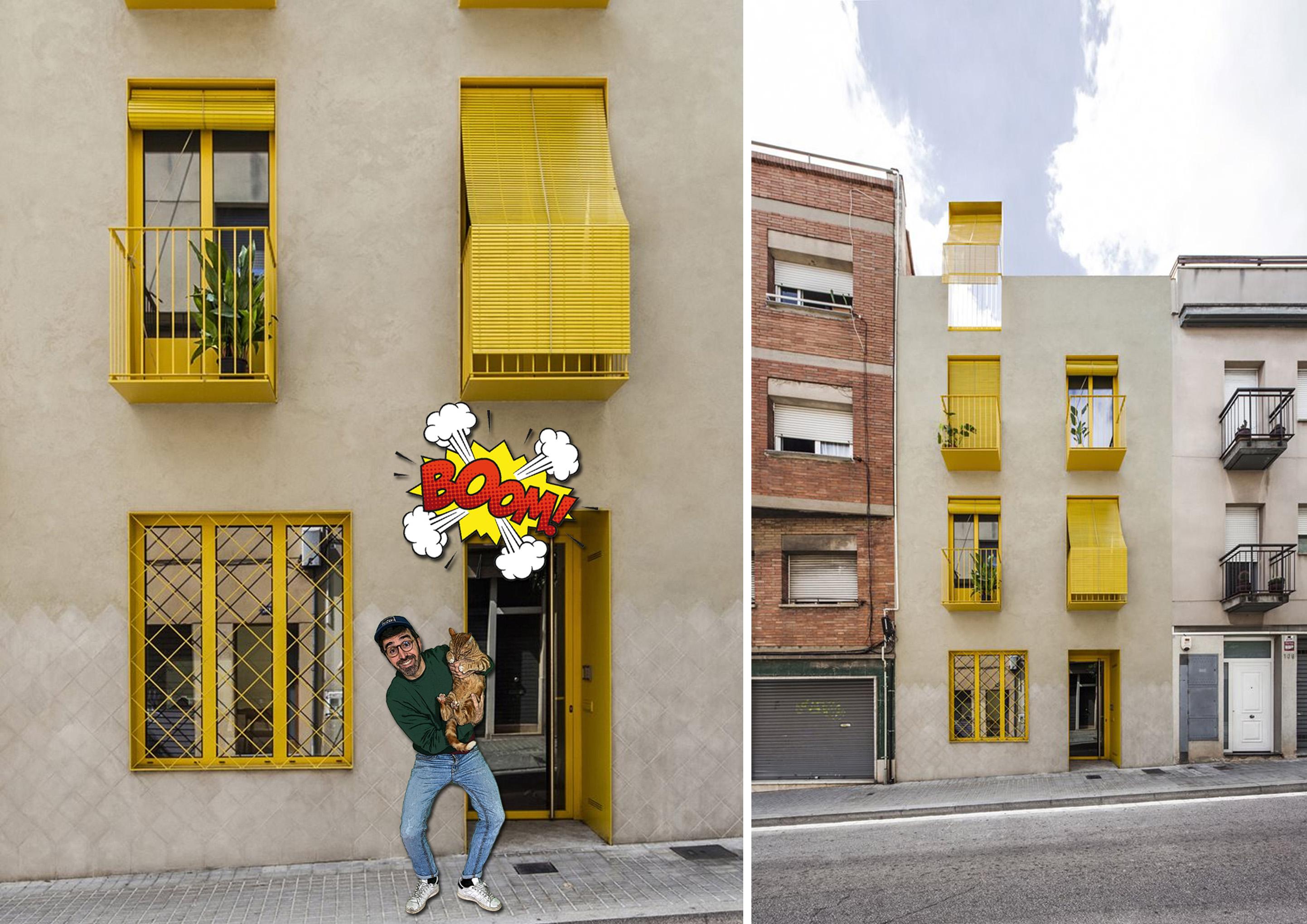Seven Lives, edificio a Barcellona
